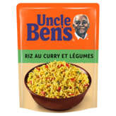 Uncle Ben's Riz Basmati Curry - 250g