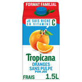 Tropicana Jus D'orange Sans Pulpe - 100% Fruit Pressé - 1.5l