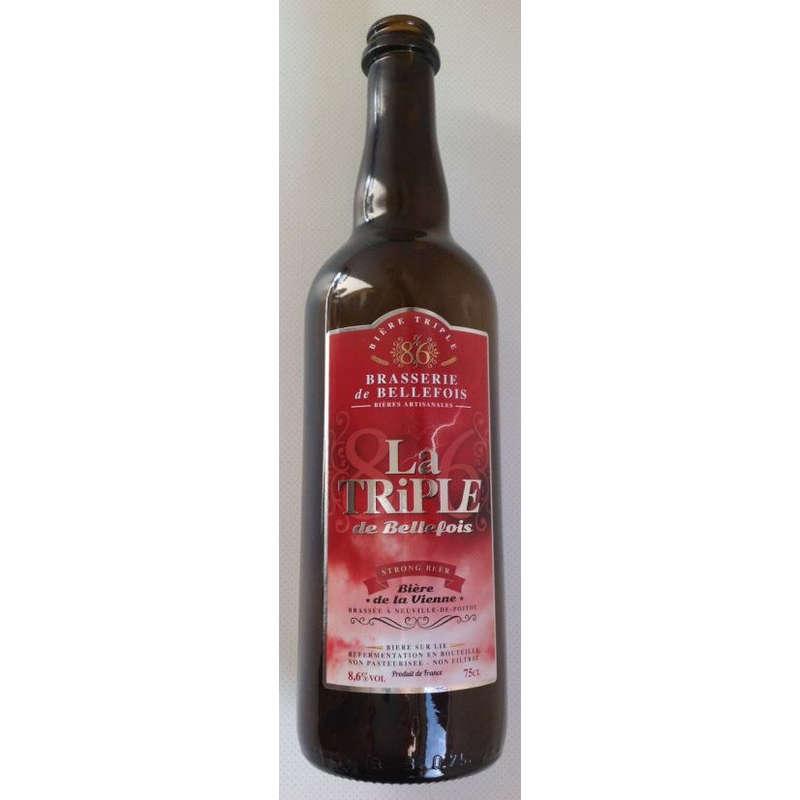 BRASSERIE DE BELLEFOIS La Triple - Bière ambrée - Triple - A...