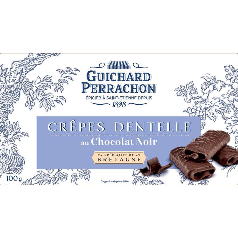 Crepes dentelles - Chocolat noir 100g