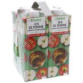 Jus - Pomme - Brique 4x1l