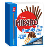 LU LU Mikado chocolat - format familial - Gouter enfant - 300g