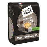 Carte Noire Expresso - 48 Dosettes - X48 336g