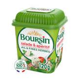 Boursin Salade Et Apéritif - Fromage Frais - Ail Et Fines He... - 1