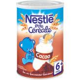 Nestlé P'tite Céréale - Céréales Cacao - Dès 8 Mois - 400g