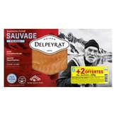 Delpeyrat Saumon Fumé Sauvage - Alaska - 8 Tranches - 220g