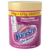 Vanish Oxi Action - Détachant Textile En Poudre - Préserve L... - 2x470g