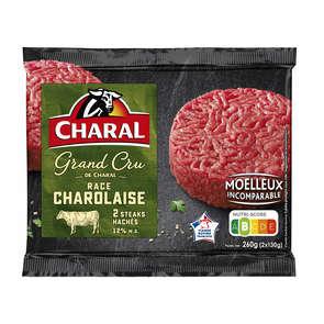 L'Atelier - Steaks hachés race Charolaise 15% - x2