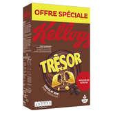 Kellogg's Tresor - Céréales - Chocolat Noir - 750g