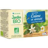Jardin Bio Infusion Calme Et Sérénité - Saveur Fleur D'orang...