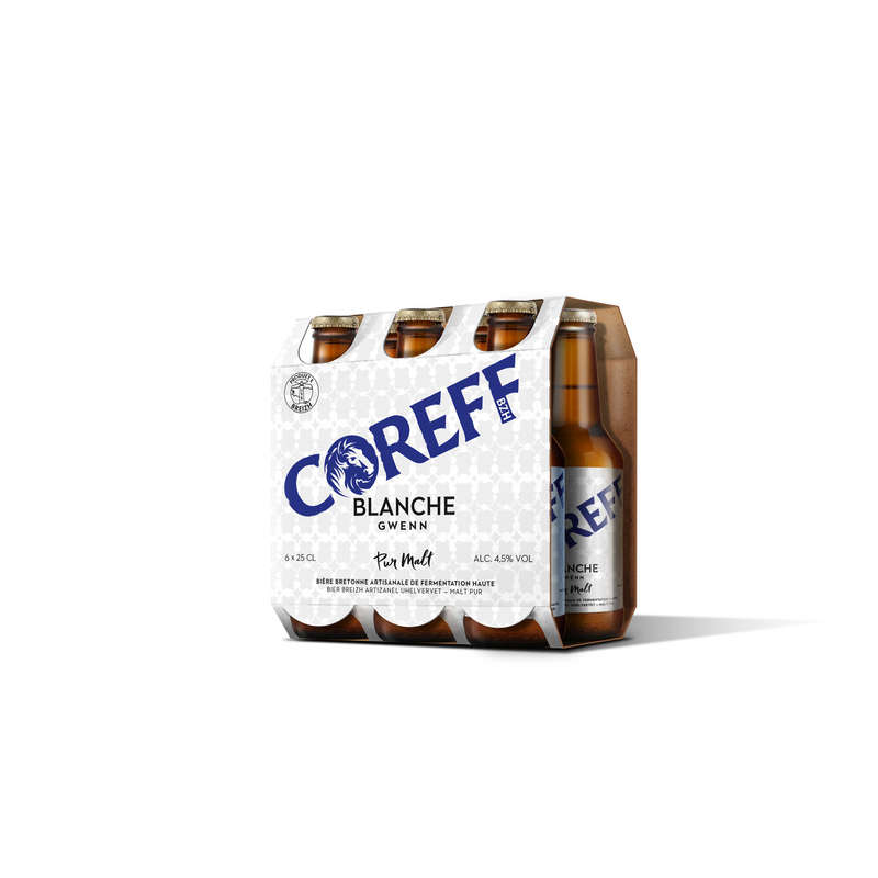 Bière blanche - Alc. 4,8% vol.