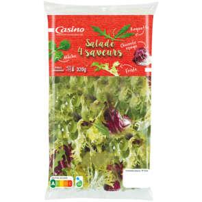 Salades aux 4 saveurs