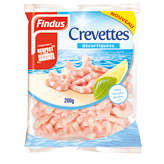 FINDUS Crevettes - Décortiquées - Surgelées 200g