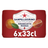 San Pellegrino Aranciata Rossa - Eau Gazeuse Aromatisée Oran...