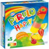 Nestlé NESTLE Pirulo happy - Bâtonnet glacé aux fruits - x5