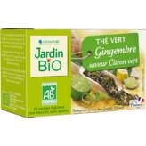 Jardin Bio Thé Vert Gingembre Citron Vert - Biologique - X