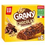 LU Grany 6 Barres 5 Céréales Au Chocolat - 1