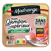 Gourmet TREO Le gourmet - Jambon - A l'étouffée - 4 tranches - 160g