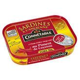 Connetable sardines à l'ancienne a l'huile d'olive et au piment de cayenne 115g - ( Prix Unitaire ) - Envoi Rapide...