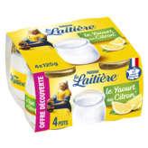 Nestlé NESTLE La laitière - Yaourt au citron - 4 x 125 g