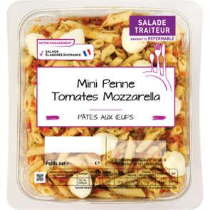 Mini penne - Tomates - Mozzarella