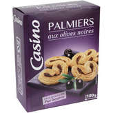 CASINO Palmiers - Aux olives noires 100g