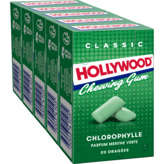 Hollywood HOLLYWOOD Classic - Chewing-gum chlorophylle menthe verte - ... - 140g