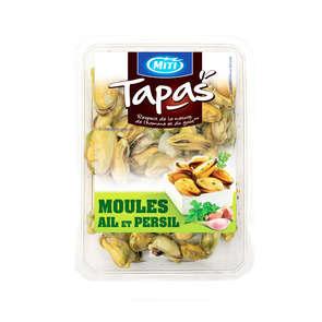 Tapas Moules ail et persil