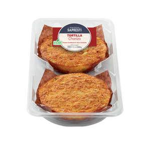 Tortilla chorizo - x2