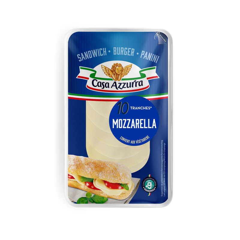 Casa azzura mozzarella tranches 140g
