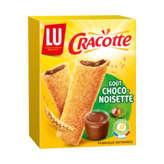 Lu Craquinette Goûter Choco Noisette 6x36g