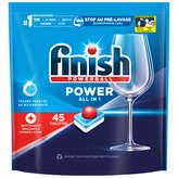 Finish FINISH Poweball - Tout en 1 - Tablettes - Lave-vaisselle - x45