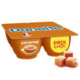 Danone DANONE Danette - Crème dessert - Saveur Caramel - 4x125g