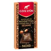 Côte d'Or Tablette De Chocolat Noir - Eclats De Noisettes C... - 1
