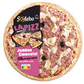Sodeb'O La Pizza - Jambon Emmental - 4