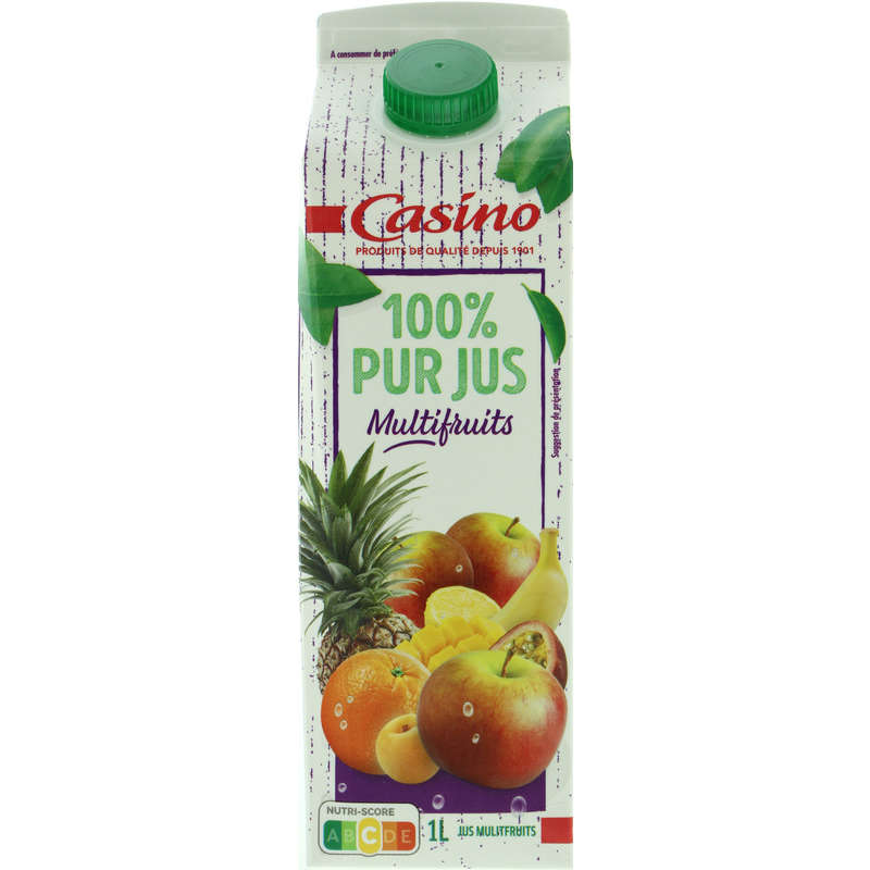 CASINO Pur jus - Multifruits