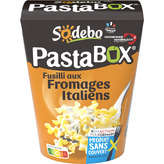 Sodeb'O SODEBO Pasta' Box - Fusilli - Fromages italiens - 300g
