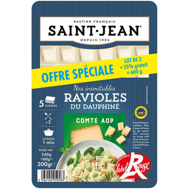 St Jean raviole du Dauphiné label rouge x2 600g