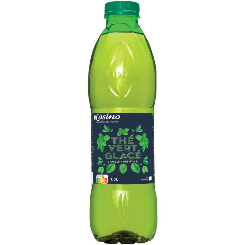 CASINO Thé vert glacé - Saveur menthe