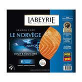 Labeyrie Le Norvège - Saumon Fumé - Au Bois De Hêtre - X6