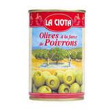 La Ciota Olives Farcies Aux Poivrons - 120g