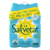 Salvetat SALVETAT Eau pétillante - 6x1,15l