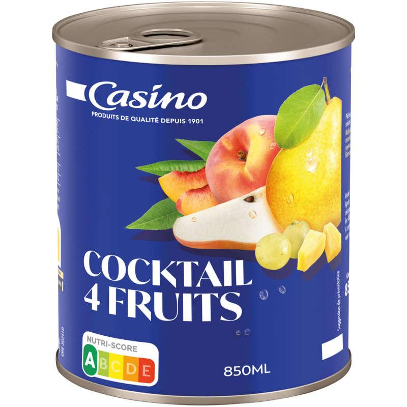 CASINO Cocktail 4 fruits - Au sirop
