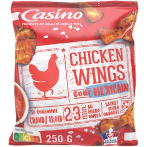 Chicken wings - Ailes de poulet marinées et rôties - Goût mexicain