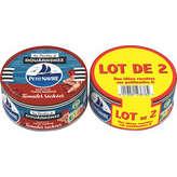 Petit Navire Thon Mariné Tomate Séchée - 2 X 110g