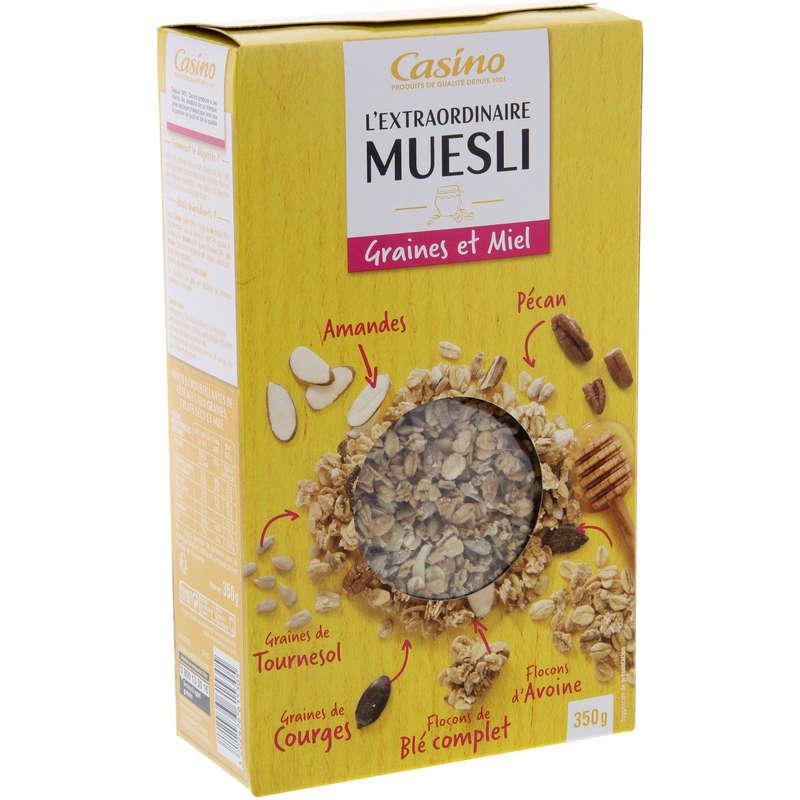 L'extraordinaire Muesli - Graines et Miel