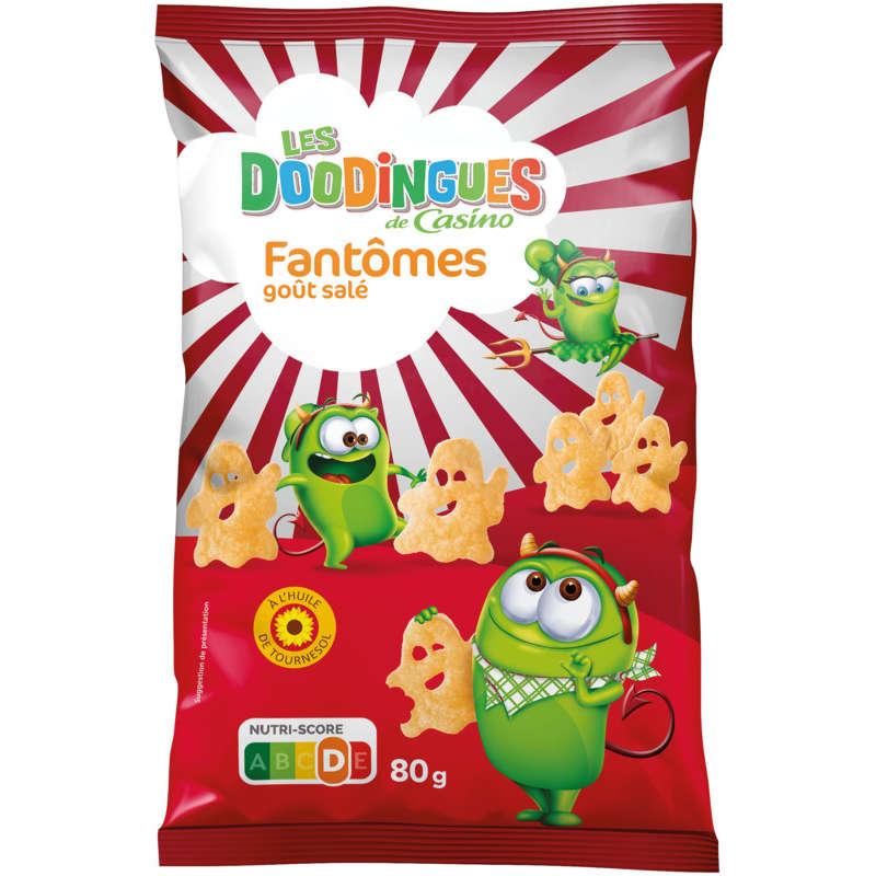 Fantômes - Biscuits apéritifs - Salés