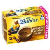 Nestlé NESTLE La laitière - Le petit pot de crème au café - 4x100g