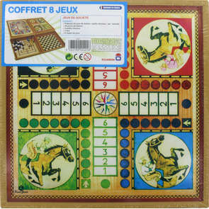 Coffret de 8 jeux standards