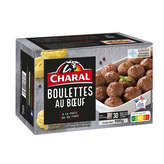 Charal CHARAL Maxi boulettes au bœuf - 900g